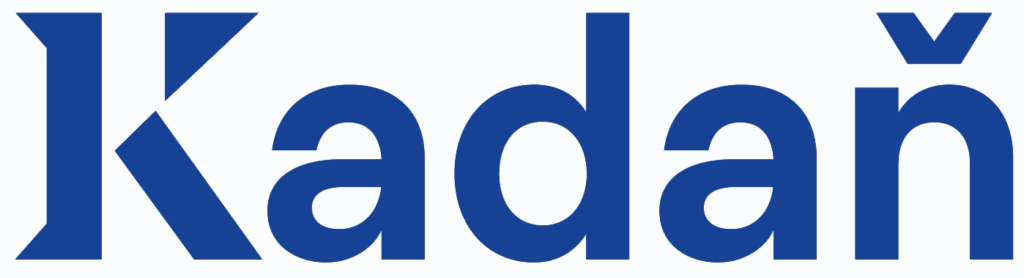 Kadaň logo modré